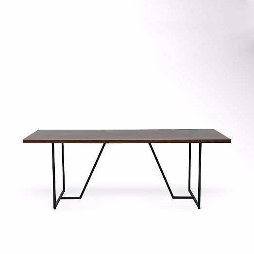 Geometric Base Dining Table