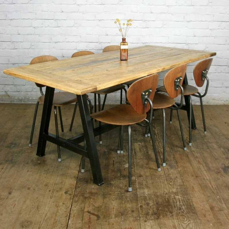 The Steel A-Frame' Dining Table